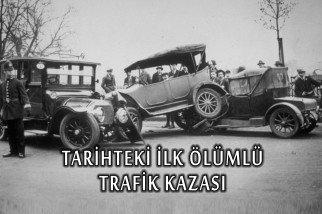 Tarihteki İlk Ölümlü Trafik Kazası