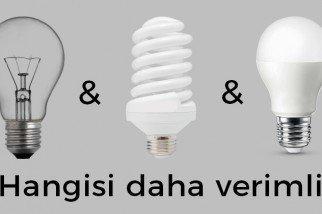 Tasarruflu Ampul mü? LED Ampul mü?